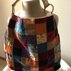 Lucky Brand Bags - LUCKY BRAND PATCHWORK HOBO BAG-BRAND NEW